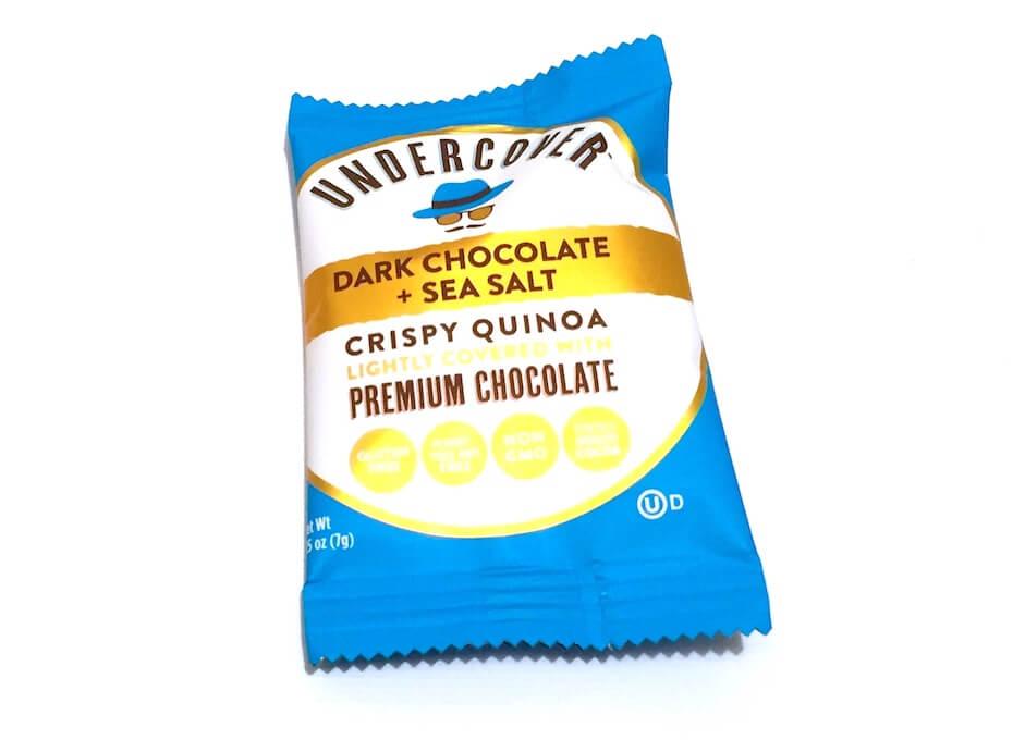 Undercover dark chocolate sea salt crispy quinoa