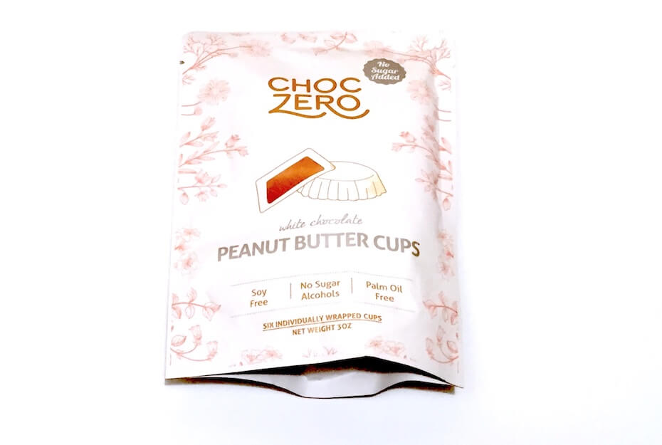 ChocZero White Chocolate Peanut Butter Cup Bag