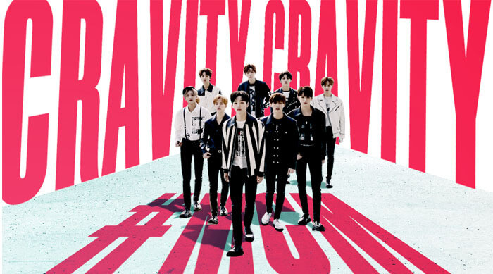 Cravity K-pop Band Man Crush Monday