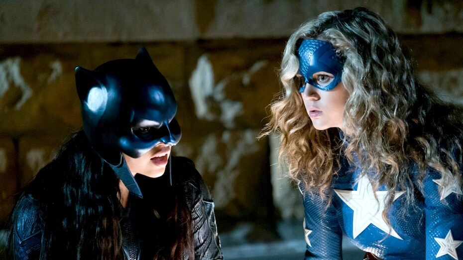 DC's Stargirl: Yolanda and Courtney in costumes