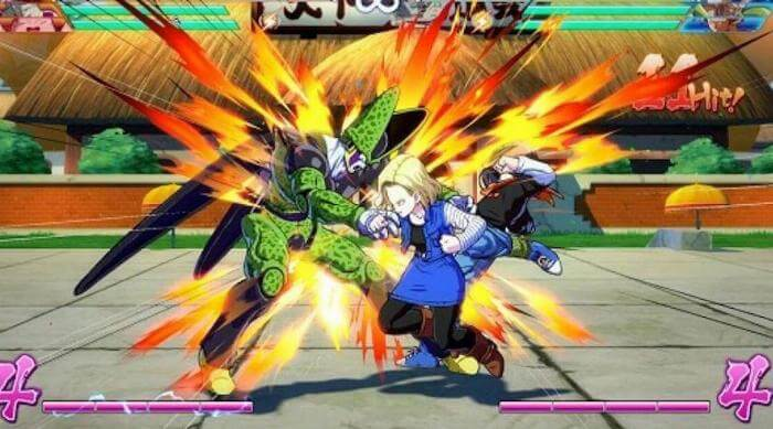 Dragon Ball FighterZ: Android 18 vs. Cell