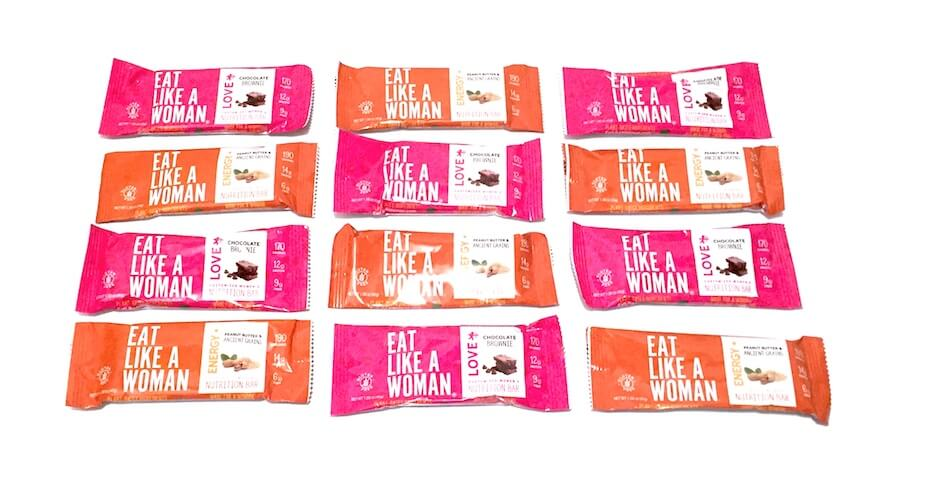 Eat Like a Woman Bars Chocolate and Nut