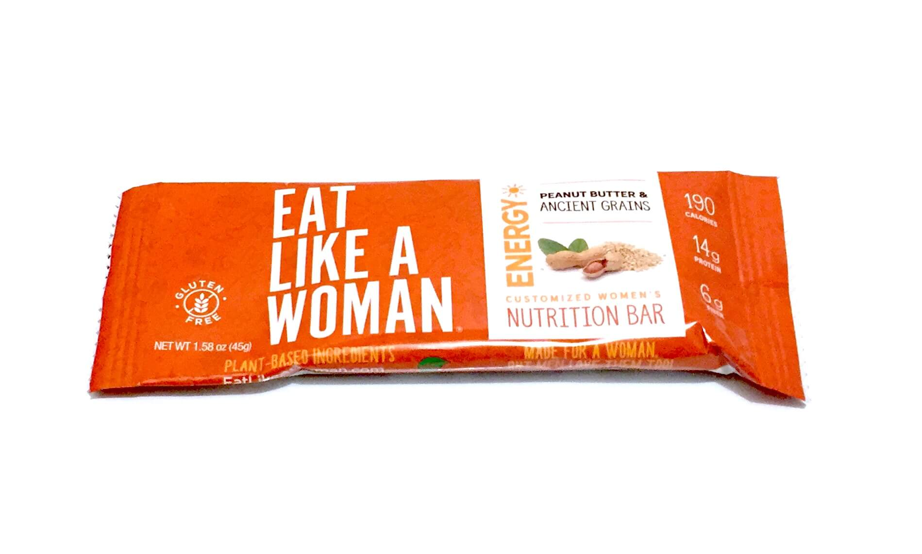 Eat Like a Woman Bar: Peanut Butter and Ancient Grains