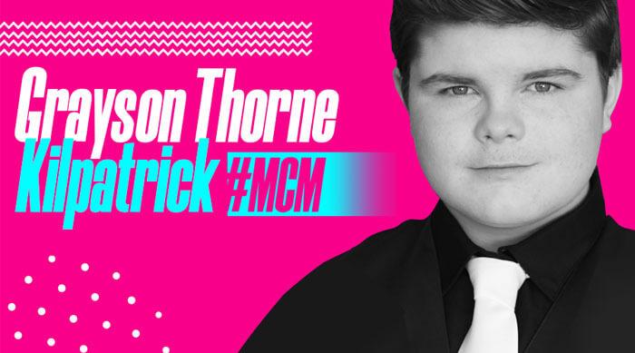 Grayson Throne Kilpatrick Man Crush Monday