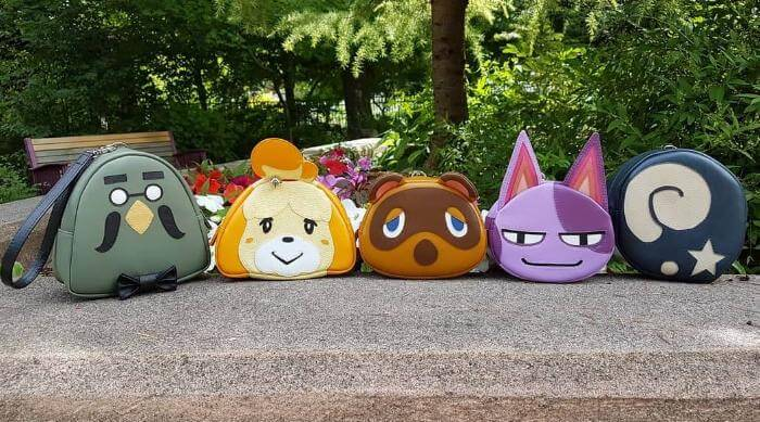 Instagram:Oyasu_miki - Animal Crossing bags