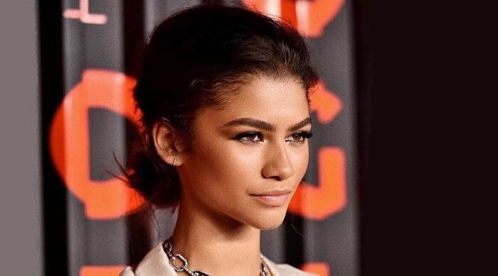 Zendaya Instagram posing for Bulgari