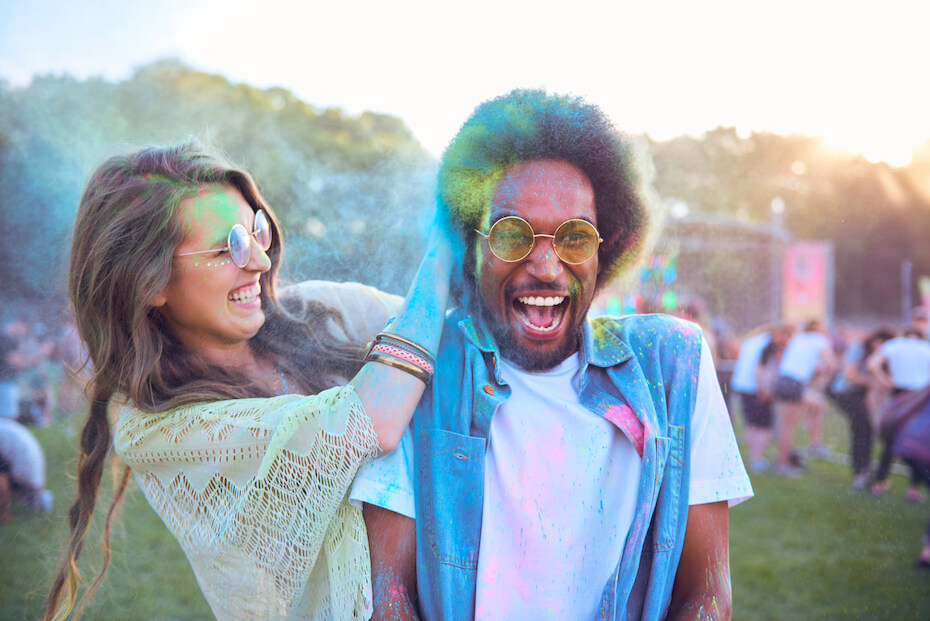shutterstock-couple-happy-color-run-powder-laughing-sunglasses-060920
