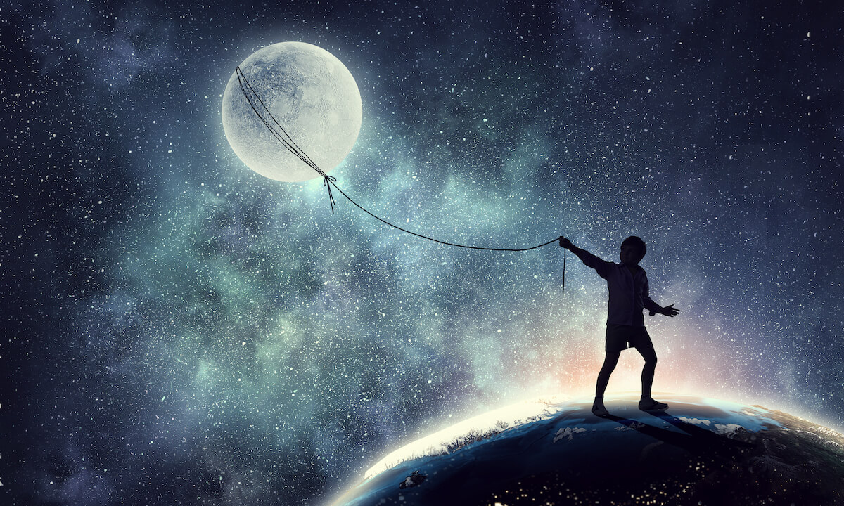 Shutterstock: Dream of lasso around balloon