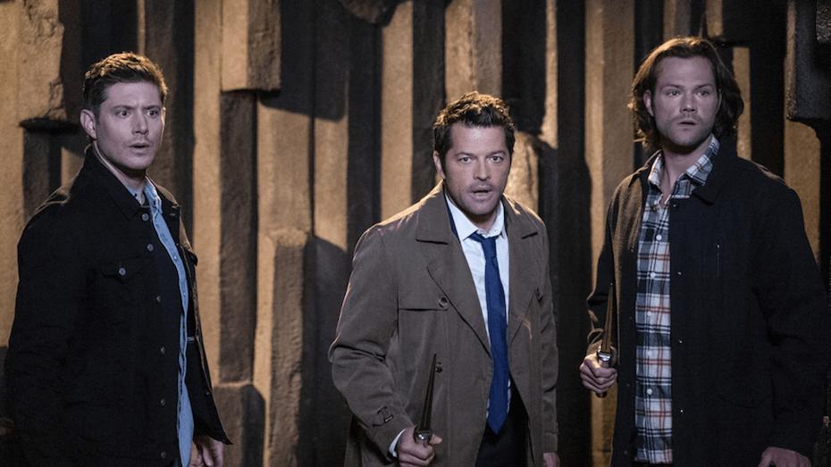 Supernatural: Dean, Castiel and Sam