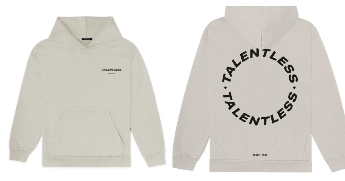 talentless hoodie
