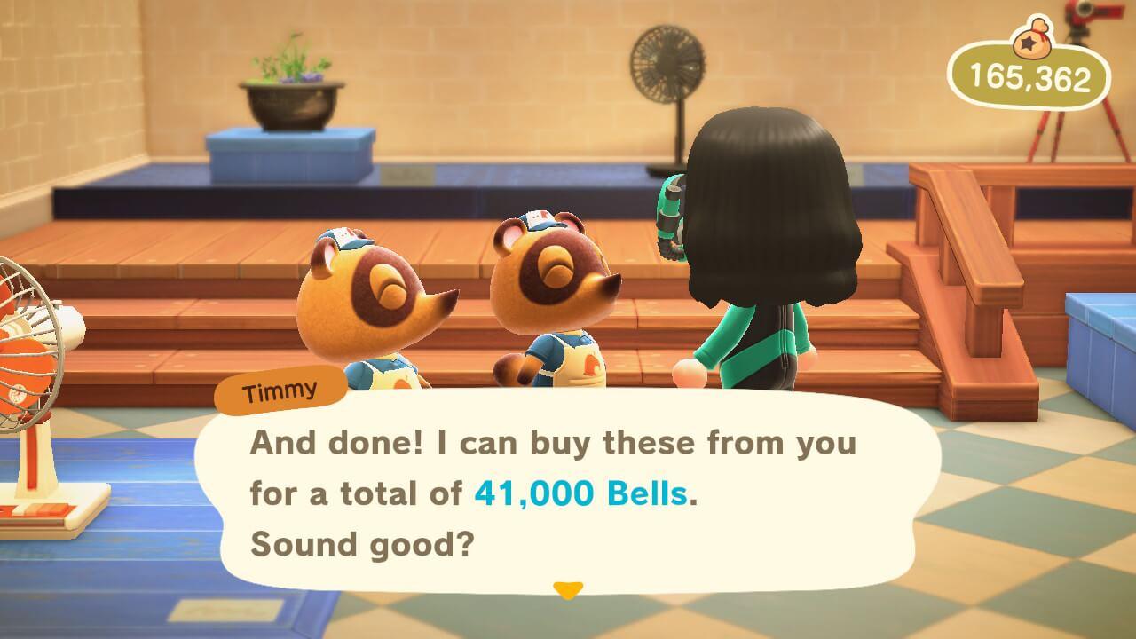 Animal Crossing: New Horizons - Selling sea creatures
