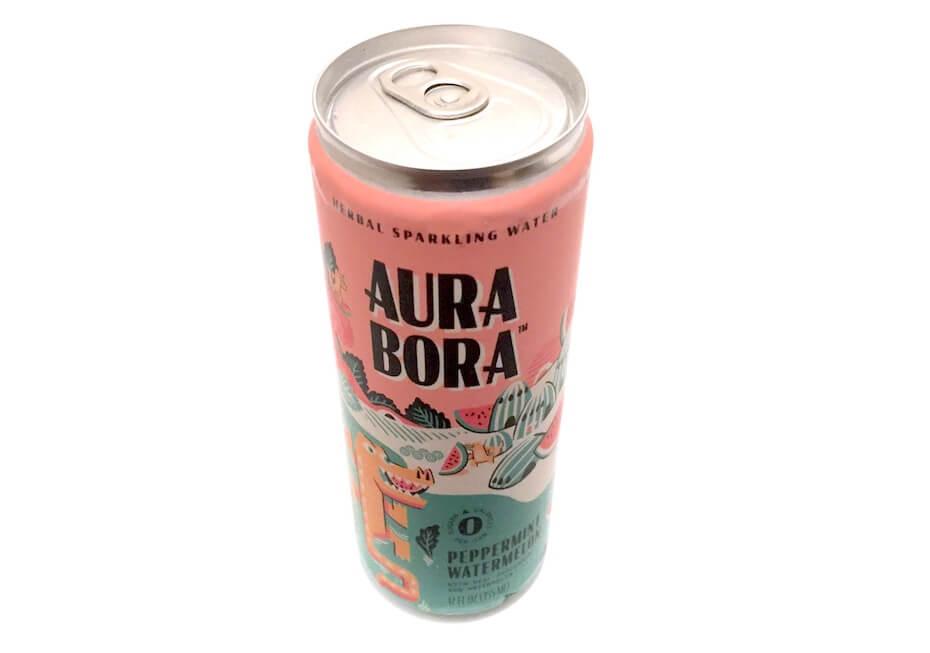 Aura Bora Peppermint Watermelon sparkling water
