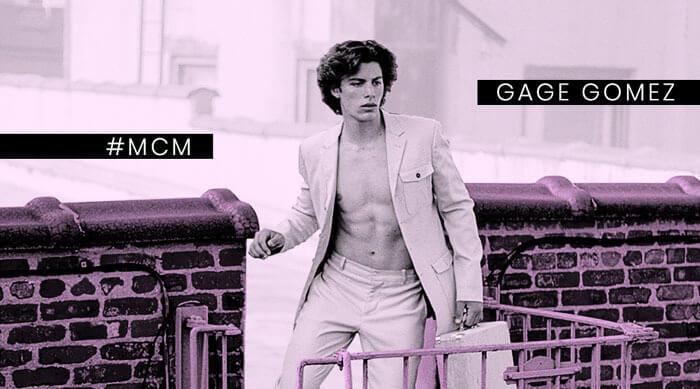 Gage Gomez Man Crush Monday