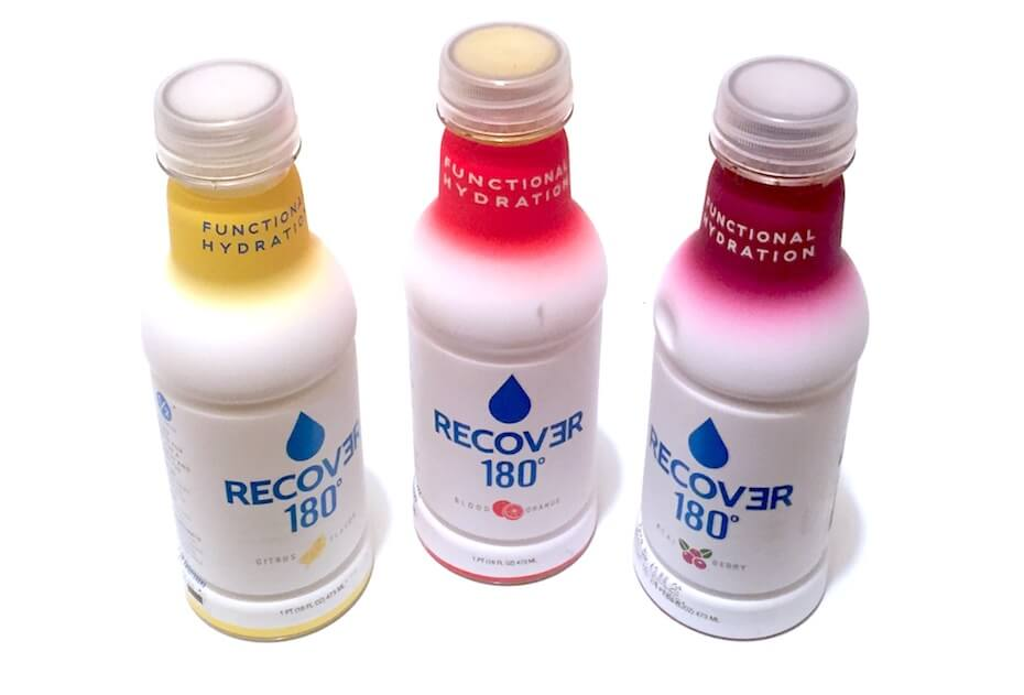 Recover 180° Three flavors