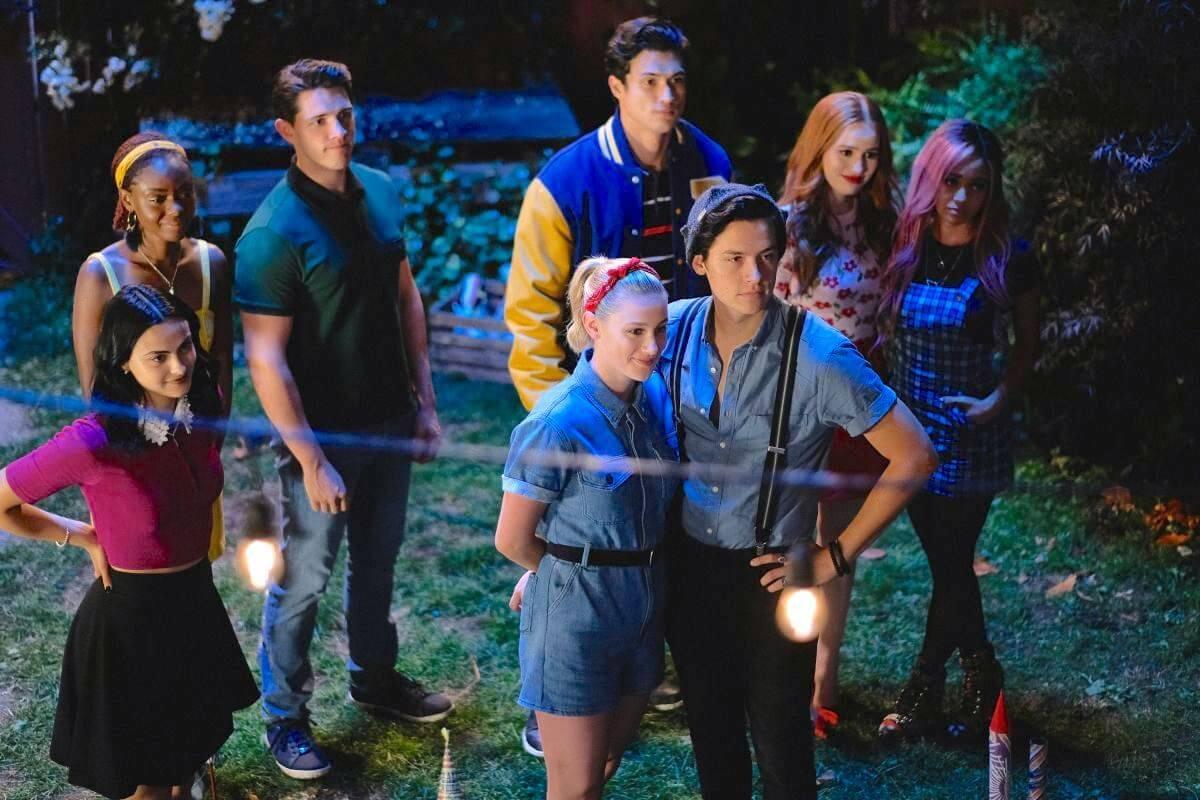 Riverdale cast outside
