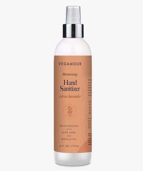 Vegamour hand sanitizer