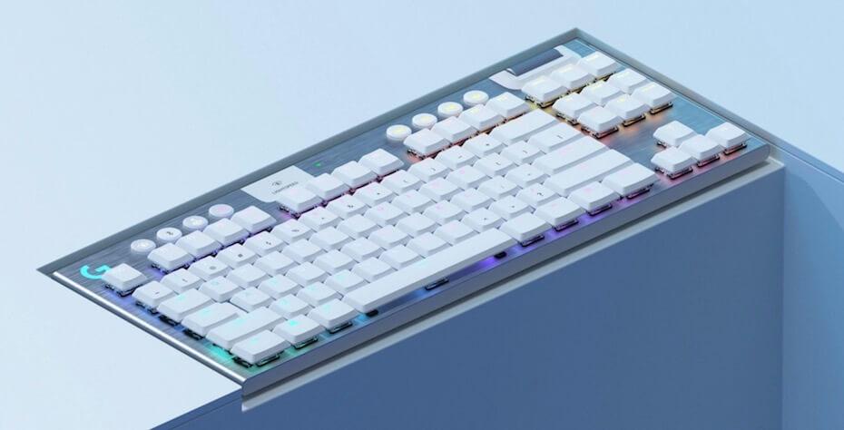 Logitech G Tenkeyless lightspeed RGB mechanical gaming keyboard