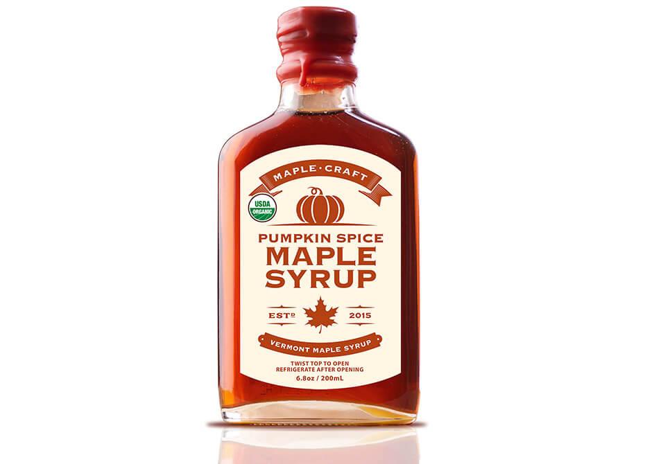 Pumpkin Spice Maple Craft Syrup
