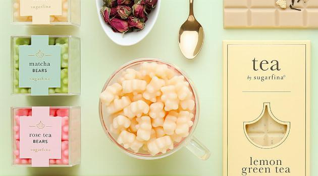 Sugarfina Tea Collection Artwork