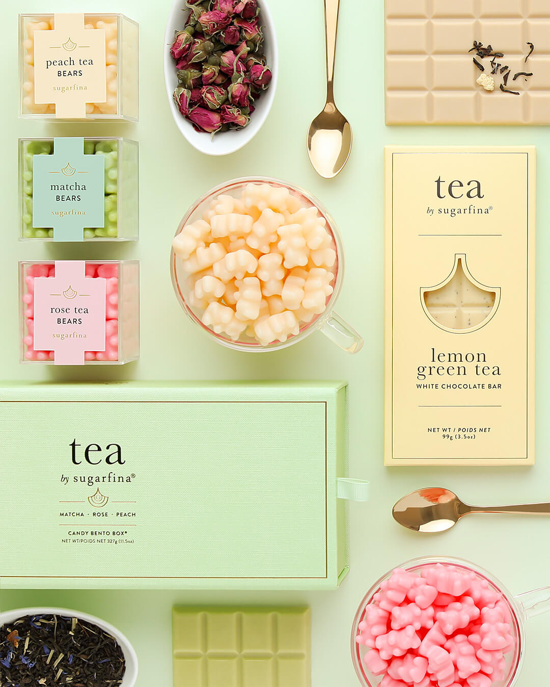 Sugarfina Tea Collection Artwork