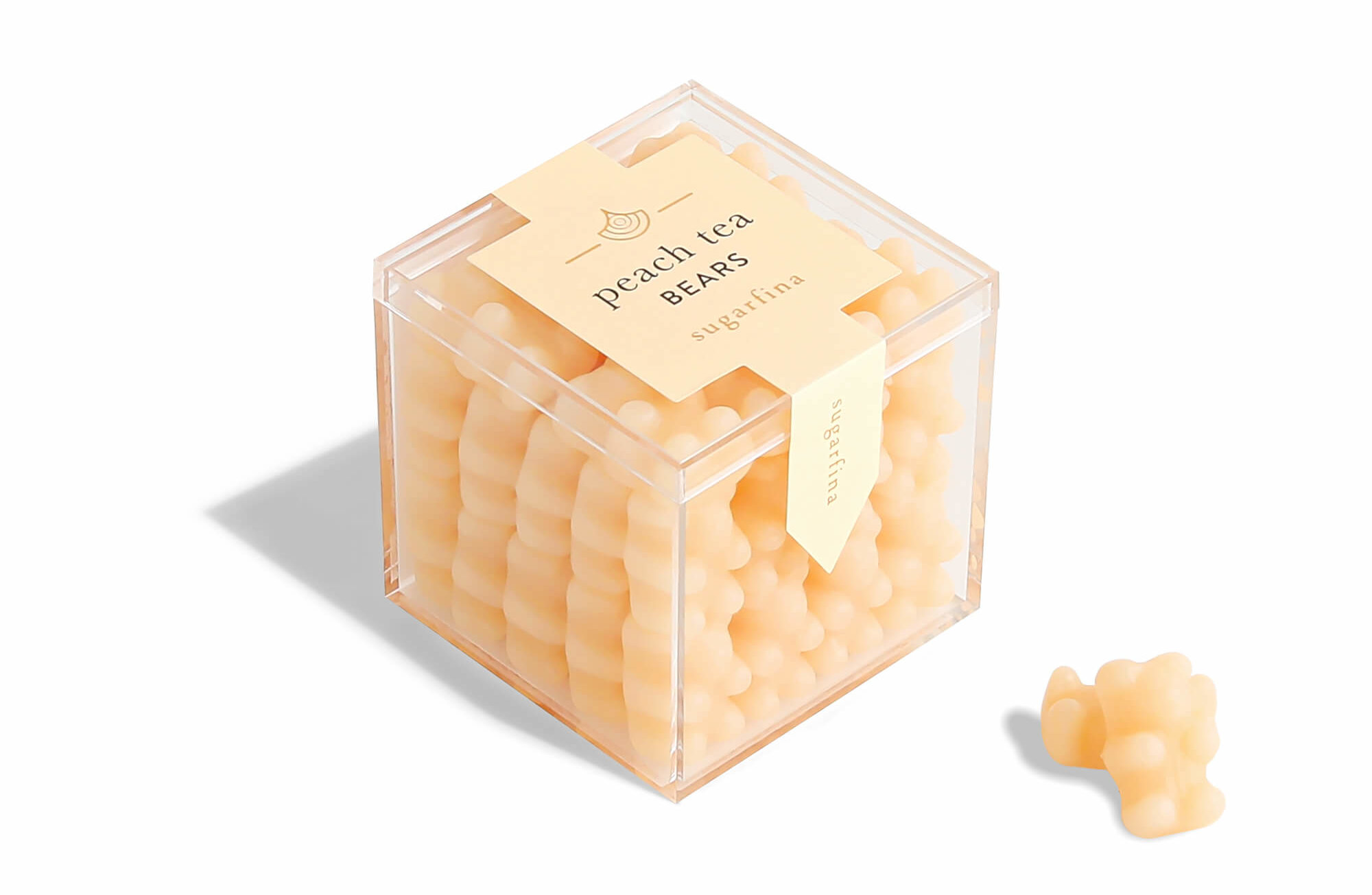 Sugarfina Tea Collection Peach Tea Bears
