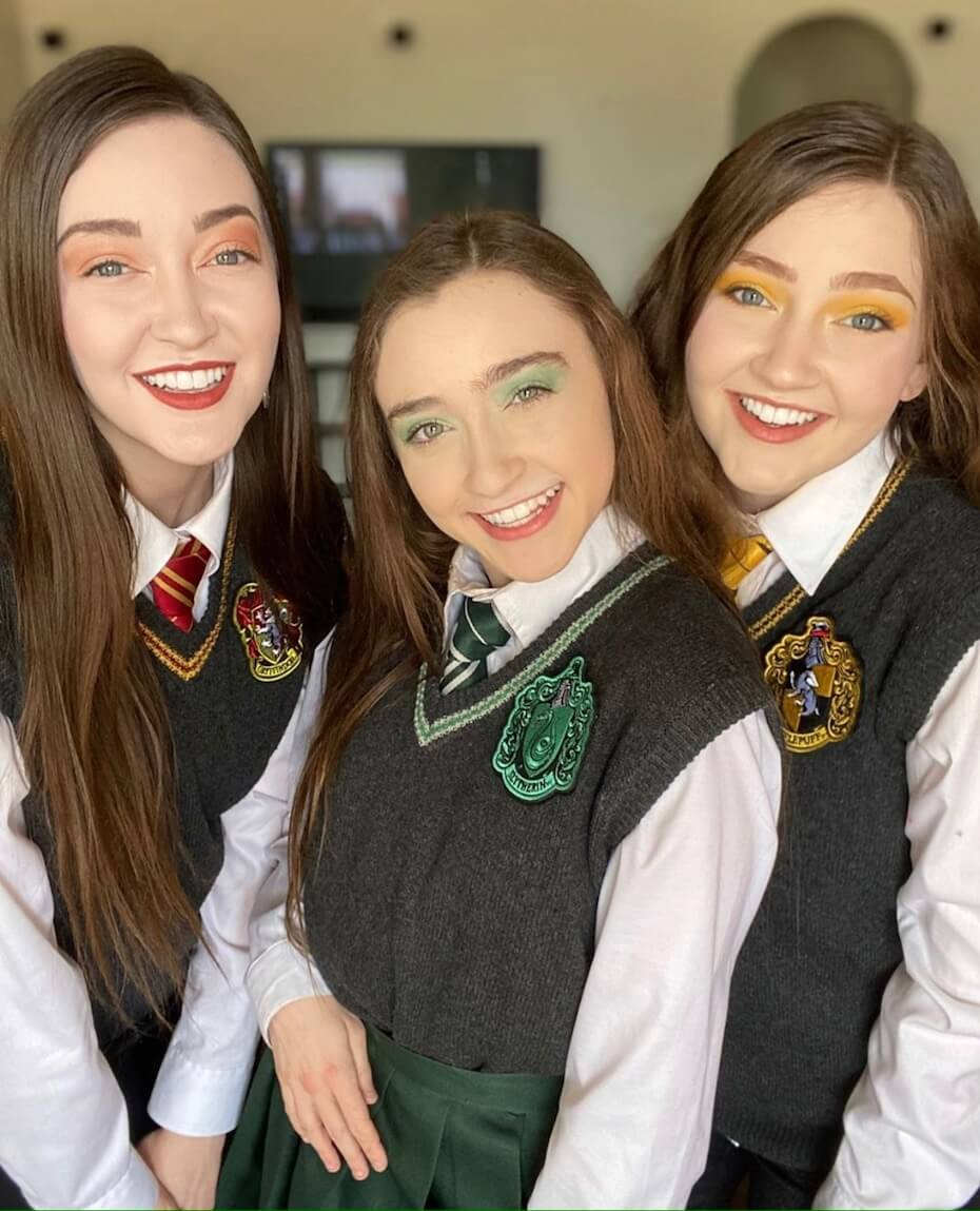 The K3 Sisters Band Harry Potter vests