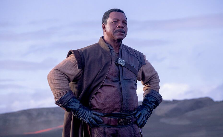 The Mandalorian: Carl Weathers as Greef Karga