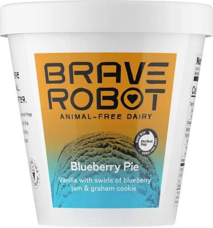 Brave Robot Blueberry pie Ice cream
