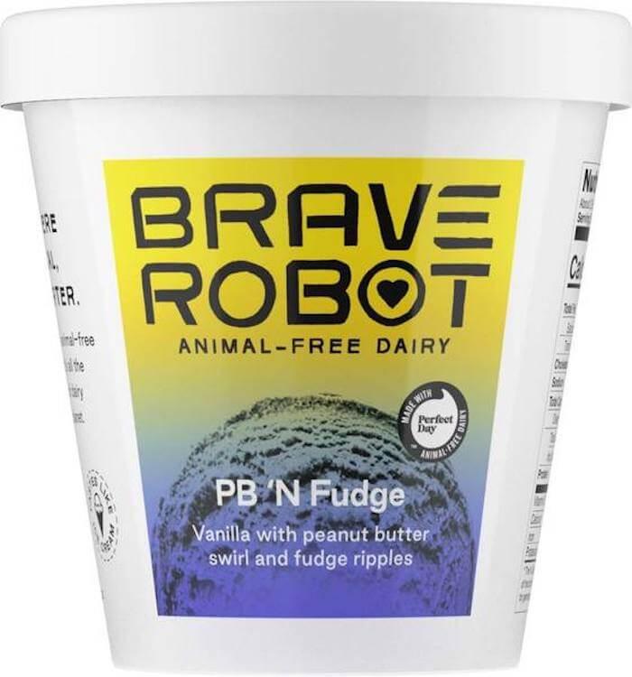 Brave Robot PB n fudge Ice cream