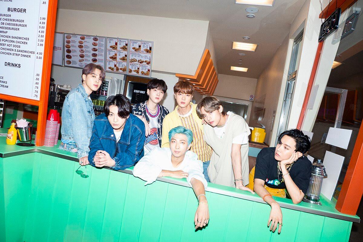 Big Hit Entertainment: BTS Dynamite promo image