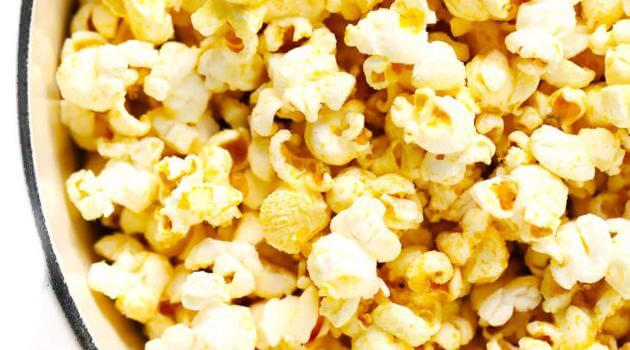 Gimme Some Oven: Vegan Nooch nutrional yeast popcorn recipe
