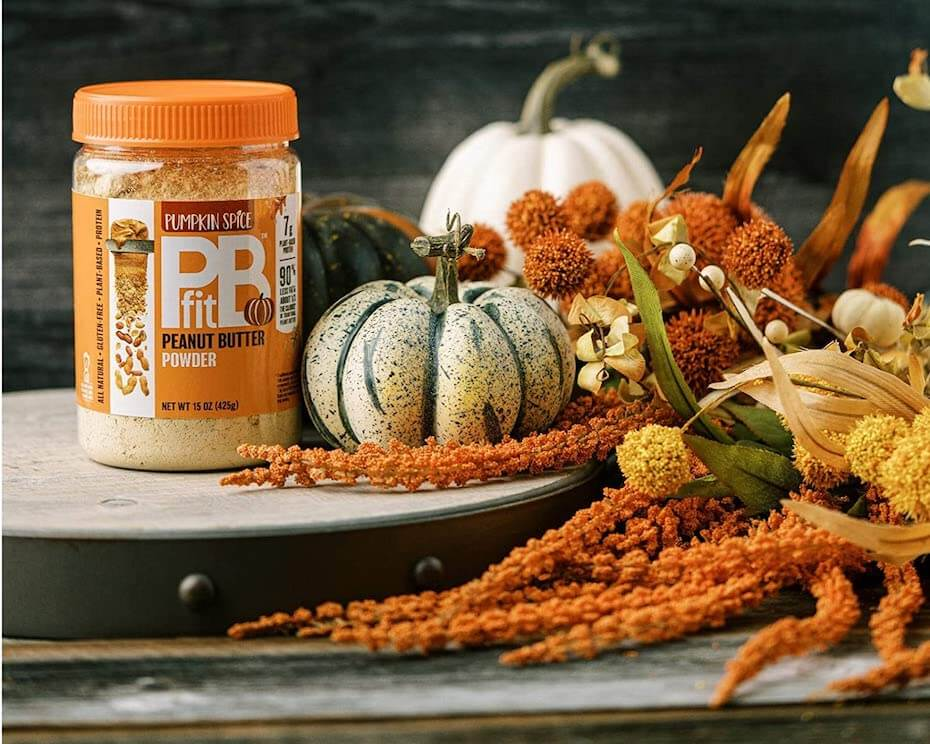 Amazon: PBFit Pumpkin Spice Peanut Butter Powder