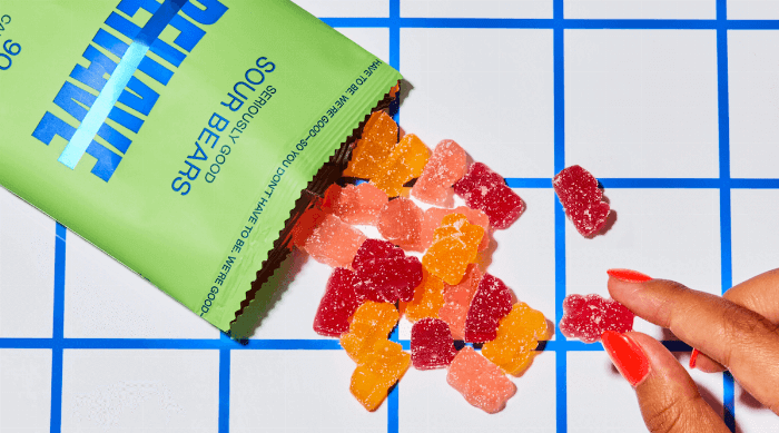 Behave: Sour gummies