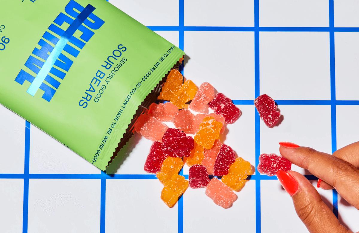 Behave: Sour gummies