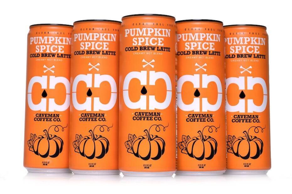 Caveman Coffee Co. Pumpkin Spice Cold Brew Latte