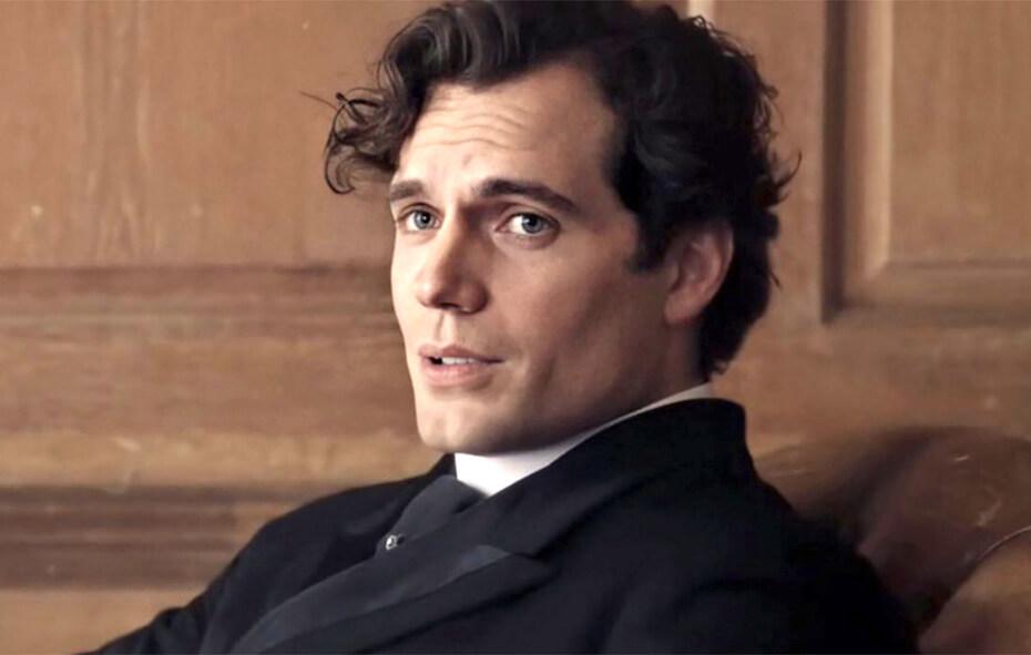 Enola Holmes Henry Cavill as Sherlock