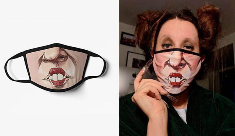 Etsy CassysTopShop Winifred Sanderson mask