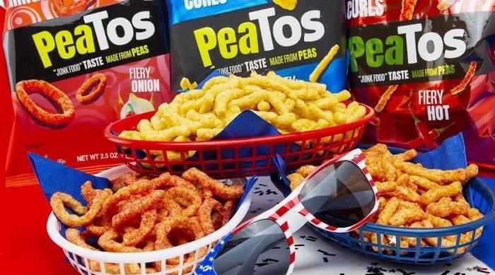 Instagram @peatosbrand snack variety pack PeaTos
