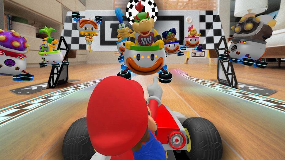 Mario Kart Live: Race against koopalings
