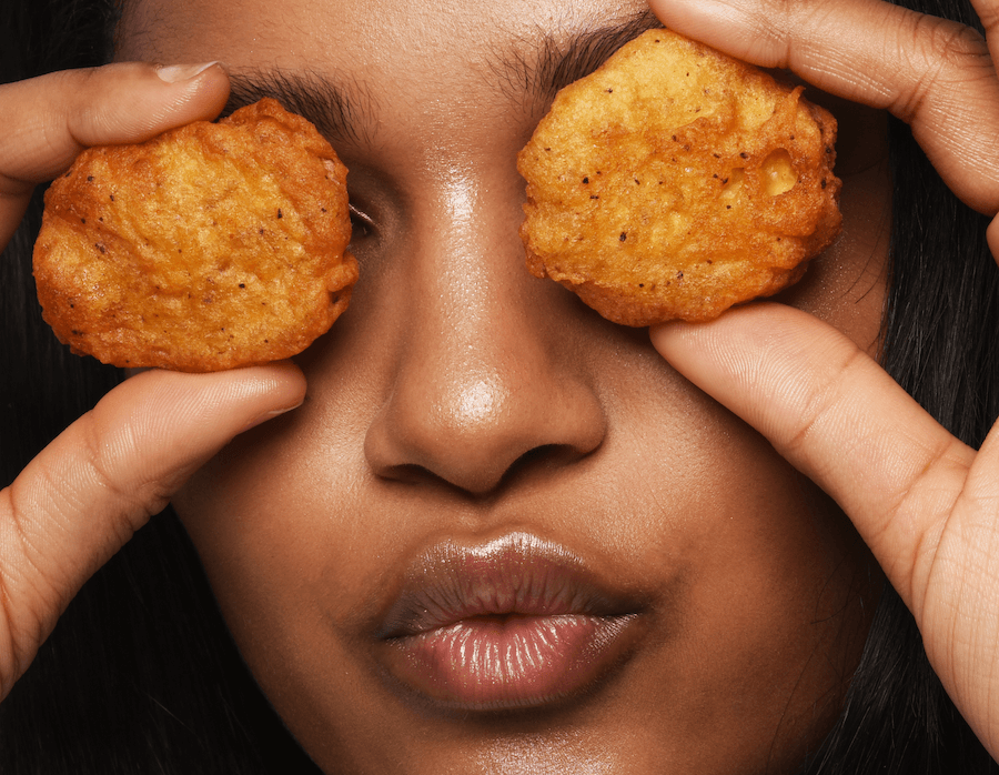 Nuggs chicken nugget eyes