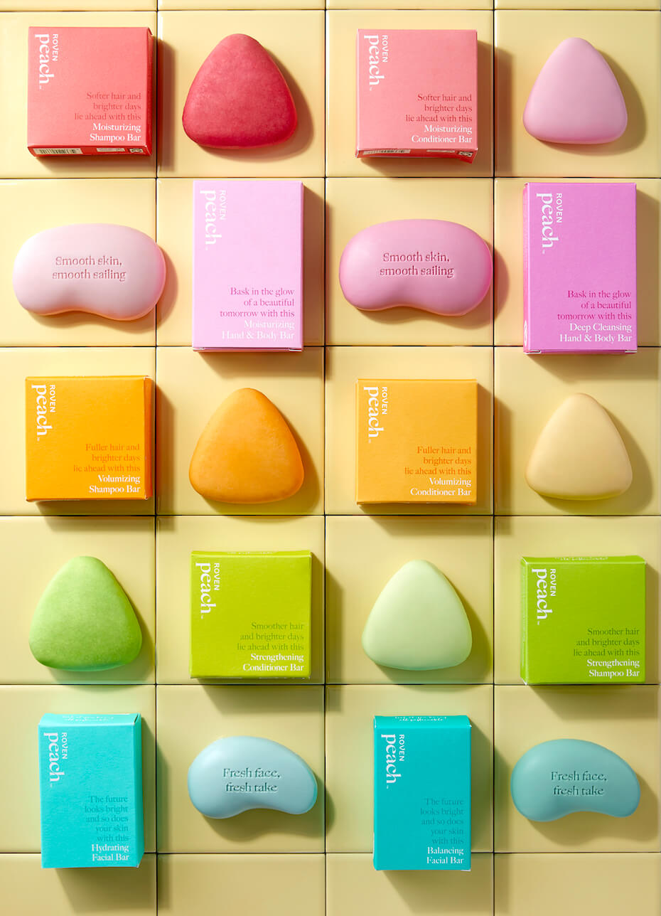 Peach care 10 variety soaps