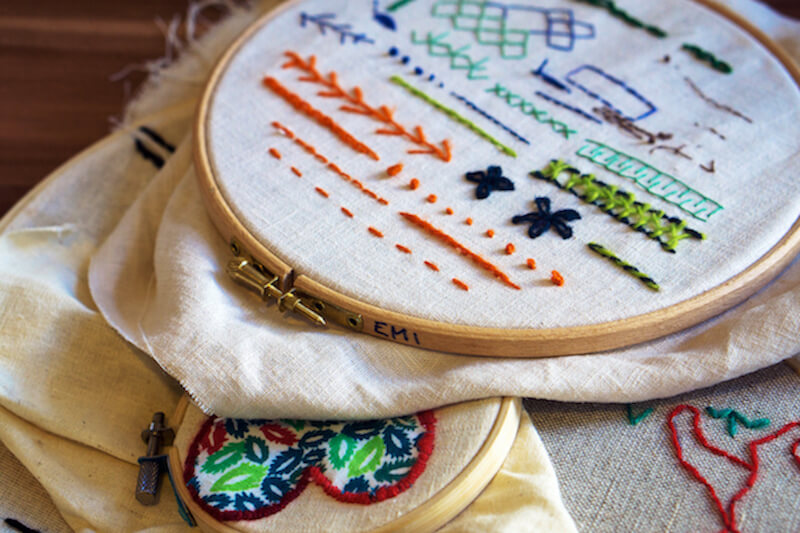 Shutterstock: embroidery