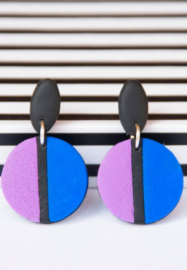 Shutterstock: clay earrings