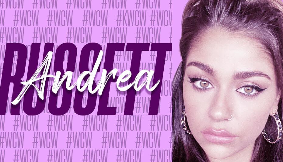 Andrea Russett Woman Crush Wednesday