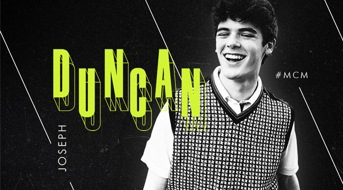 Duncan Joseph Man Crush Monday