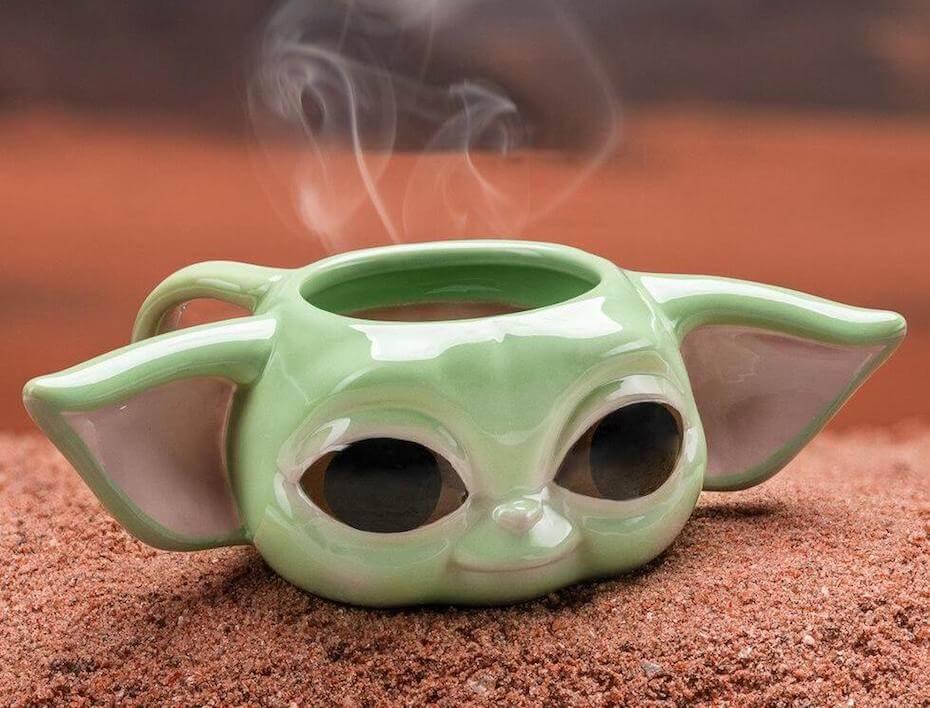 Firebox: Baby Yoda 3D Mug