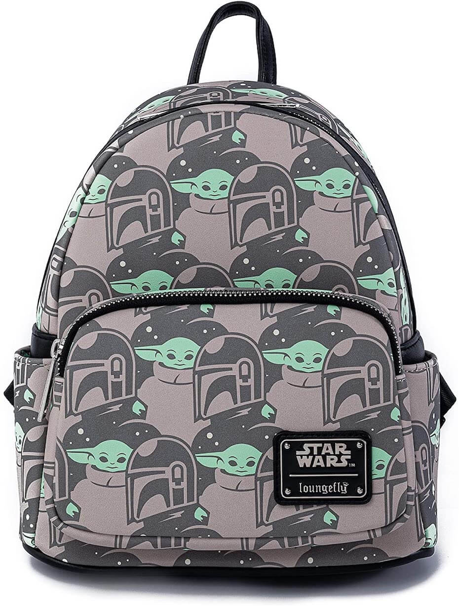Funko Loungefly The Child and Mando Print Mini Cosplay Backpack