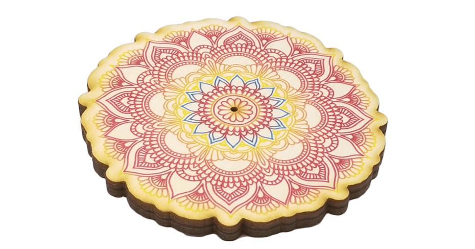 House of Intuition: Mandala Incense Holder
