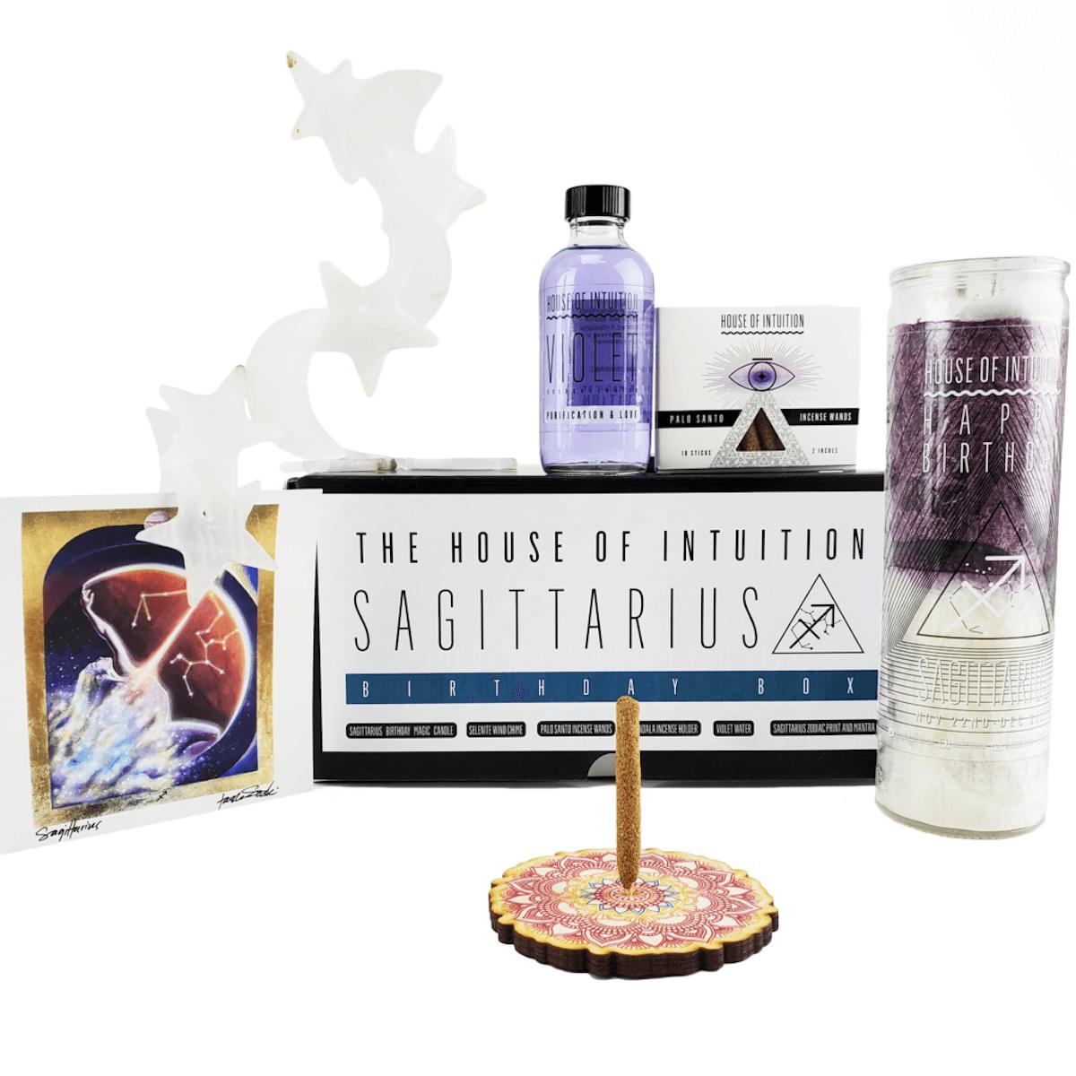 House of Intuition:Sagittarius birthday box