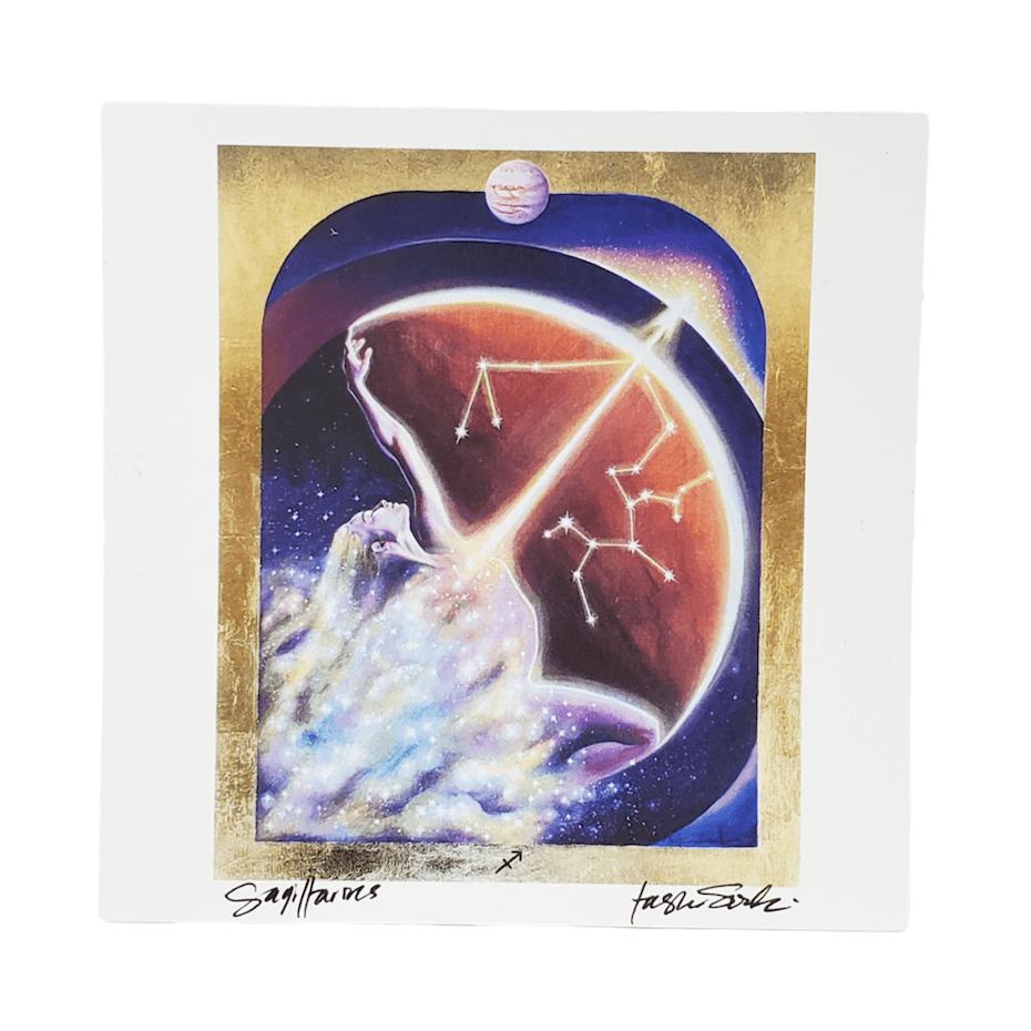 House of Intuition: Sagittarius painting by Tashina Suzuki